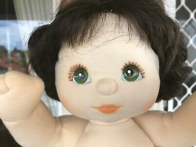 My Child Doll Brunette Green Eyes In Excellent Condition!!! Below Cost!!!