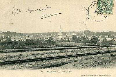 Carte AILLEVILLERS ET LYAUMONT Panorama