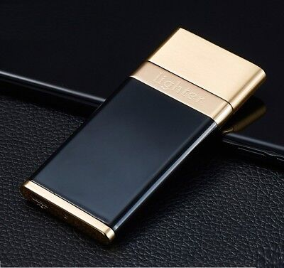 Cigarette Flameless Lighter Electric Rechargeable Metal Windproof Single-Arc USB