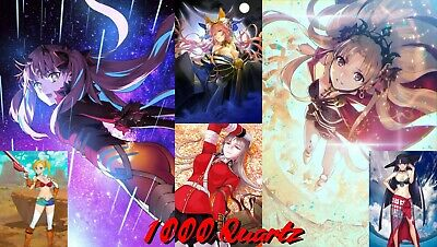 [JP] FGO Double Ishtar Reg+Space 1000+SQ Lv100+ Endgame Account Fate Grand Order