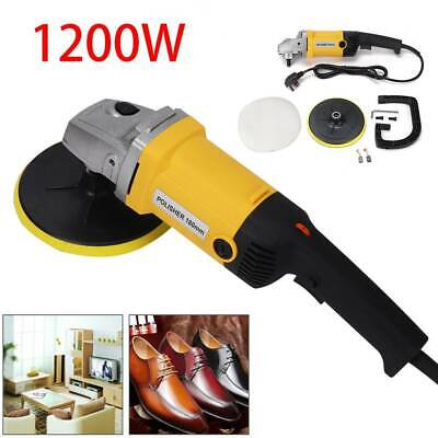 "Power Polisher 6"" Car Buffer Waxer Sander Waxing Polishing Buffing Machine 1200W"