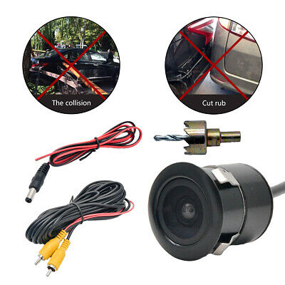 HD Car Reversing 3-in-1 Camera Side Parking 170° wide angle Rear View