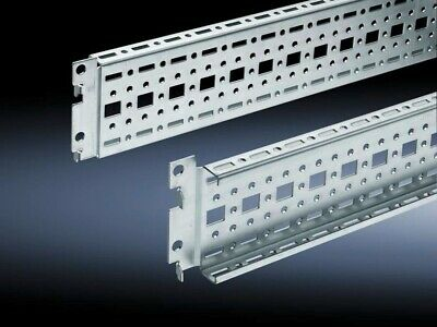 (4) NEW-BOX OF 4xPCS Rittal TS 8612080 TS System Chassis 800mm 17mm x 73mm