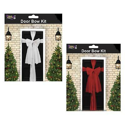 Christmas Decoration - Organza Door Bow Kit - Choose Colour