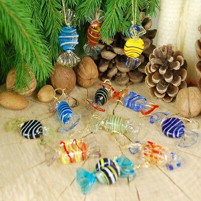 Decorations Decoration Candy Glass Sweets Kids Gifts Vintage Murano Style