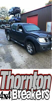 Arrived 4/10/19 2011 Nissan Navara  Euro 5 In Grey N/S/R Seatbelt
