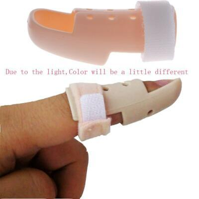 New Plastic Mallet DIP Finger Support Brace Splint Joint Protection Injury 01