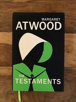The Testaments Book Hardcover Margaret Atwood