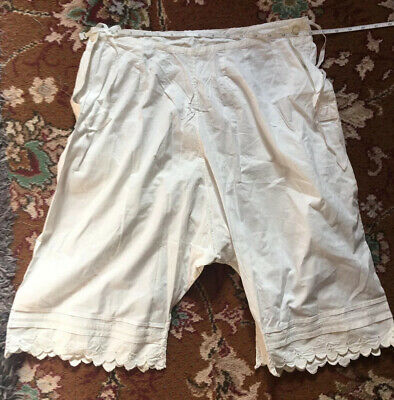 Antique / Vintage Cotton French Bloomers Knickers