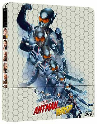 Ant-Man and the Wasp. Steelbook Blu-ray 3D (2 Blu-ray)