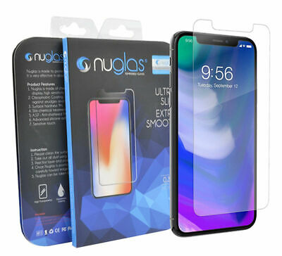 2-PACK NUGLAS For iPhone 11 MAX Premium Quality Tempered GLASS Screen Protector