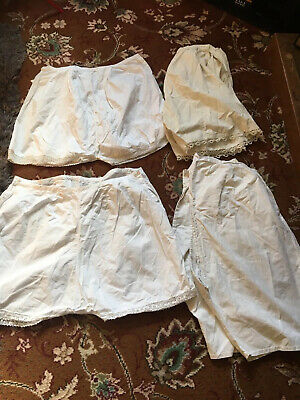 Joblot Of French Bloomers / Knickers X4