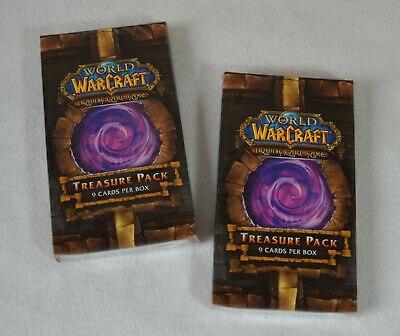 WoW - 2x Dungeon Deck Treasure - Loot Chance - World of Warcraft - OVP sealed