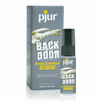 PJUR - Back Door Serum & Spray - Water-Based And Silicone Lube - 20ml - 250ml