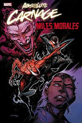 Absolute Carnage Miles Morales 1 Coello Variant 1:50 Marvel Comics Hot