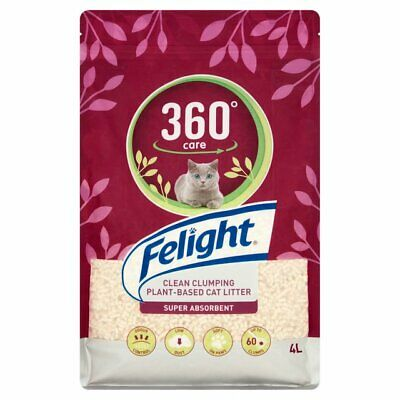 Bob Martin Felight 360° Clumping Recycled Plant Based Biodegradable Cat Litter
