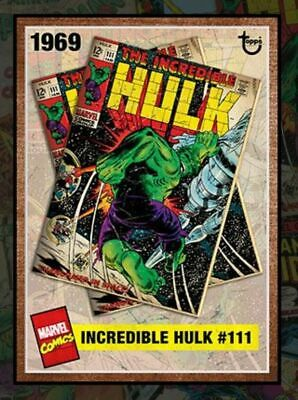 Topps Marvel Collect Card Trader ARCHIVES INCREDIBLE HULK SMASH #111