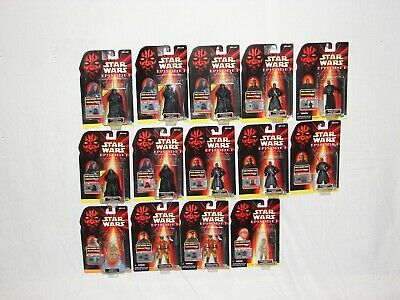 star wars lot episode 1 comm tech darth maul 3 versions 14 peices