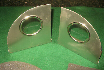2002 Ford Thunderbird Stainless Bookends - T-Bird 55, 56, 57 - 1957, 1956, 1955