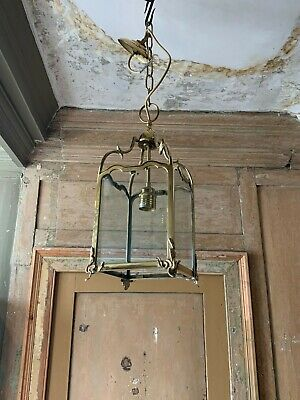 Early 18th century / georgian style brass lantern. Good quality 20th cent. repro