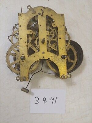 Antique Ansonia Iron Case Mantle Clock Movement