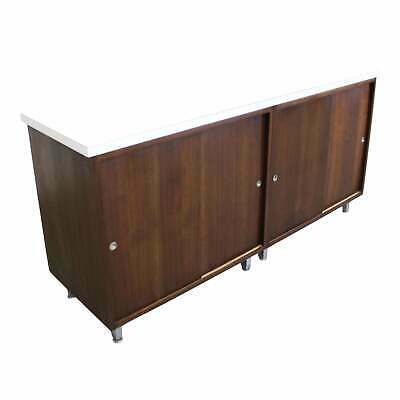 Mid-Century Modern George Nelson for Herman Miller Sliding Door Credenza
