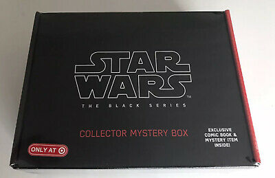 """STAR WARS TARGET Exclusive Black Series 6"""" Inch Collector Box NEW SEALED"""