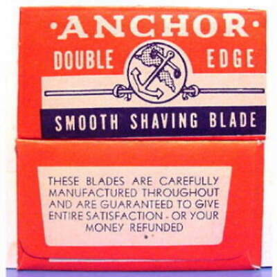 Vintage   ANCHOR   DE Safety Razor Blade
