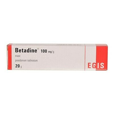 BETADINE Iodine Antiseptic Ointment - Non-irritating, Skin Infection, Wounds 20g