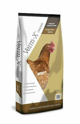 Copdock Mill Chicken Feed Range Layers Pellets + Verm X 20kg