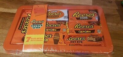 Reeses Reese's Chocolate Peanut Butter Selection Box Tray Christmas 7 bars 297g