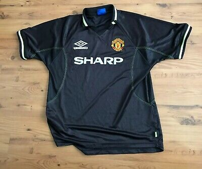 Manchester United Third Away Football Shirt 1998/99 - Umbro
