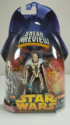 Star Wars Revenge Of The Sith Sneek Preview General Grievous 1 of 4 Hasbro 2005