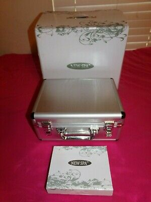 New Spa Microdermabrasion Machine with case and tools. New!