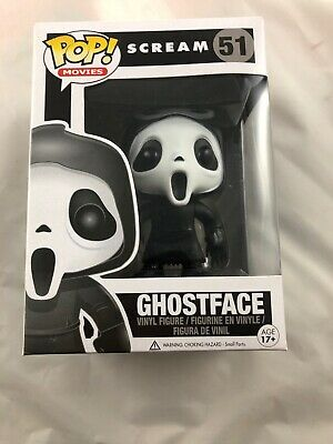Ghost Face #51 funko pop! scream movie horror rare vaulted retired Pop Protector