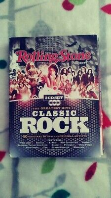 Rolling Stone presents-- The Greatest Hits of Classic Rock 3CD Digi-box 40 traxx