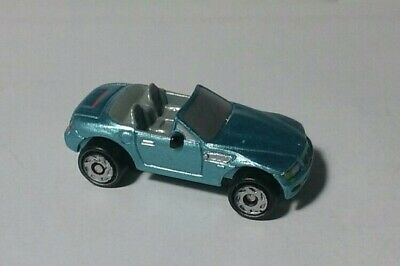 Micro Machines BMW Z3 Blue Convertible Galoob 1996