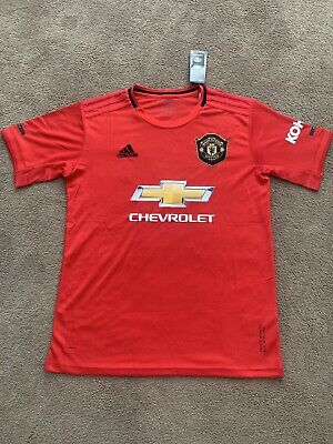 MAN UTD FC Home Shirt 19/20 - MENS Size LARGE --Brand New With Tags