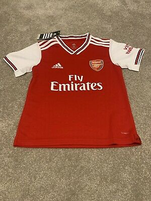 ARSENAL FC Home Shirt / KIT 19/20 -KIDS Size 8/9 -Brand New With Tags