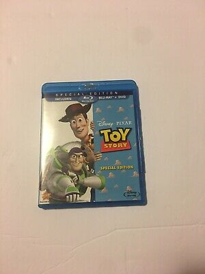 Toy Story (Blu-ray+DVD, 2010; 2-Disc Special Edition) - OOP