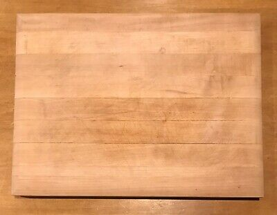 """PROFESSIONAL QUALITY"" HARD ROCK MAPLE CUTTING BOARD from Williams Sonoma 20x15"""