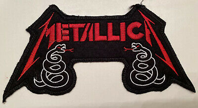 Metallica Snakes embroidered large Patch