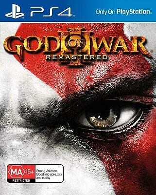 God of War: Remastered III PS4 Playstation 4 Game - Disc Only