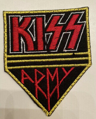 Kiss Army embroidered Patch