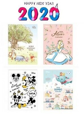 Large 2020 Mickey Alice Dumbo Pooh Schedule Book Dairy Monthly Planner Calendar