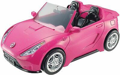 Barbie Glam Convertible Sparkly Pink Rolling Wheels Two Seats Sporty Spoiler