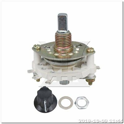 Selector Rotary Switch Middle 1 Deck 1 Pole 8 Positions