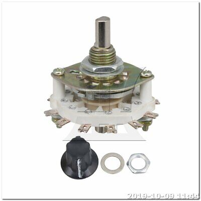 Selector Rotary Switch Middle 1 Deck 3 Poles 3 Positions