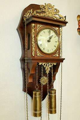 Old Wall Clock Dutch Vintage Wall Clocktype Zaanse clock 8 Day