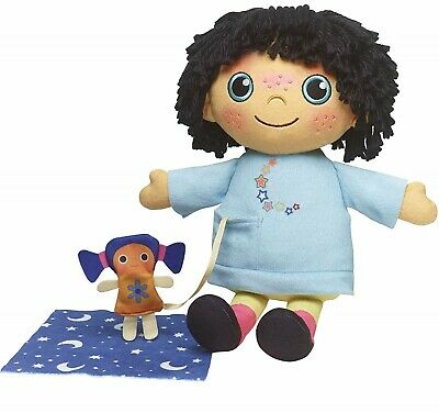 Moon and Me Goodnight Pepi Nana Plush Doll with Sounds 34 cm for Preschoolers